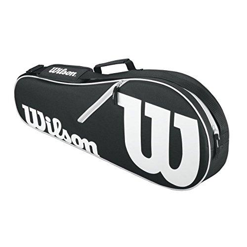Wilson Schlägertasche Advantage II Triple Racket Bag, Schwarz, 71 x 22.5 x 29 cm, 35 Liter, WRZ601403