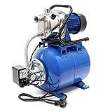 Hauswasserwerk 3600l/h 1200W Membrankessel 19l Druckschalter Gartenpumpe