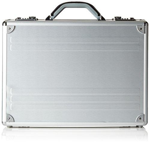 Alumaxx Laptop-Attachékoffer Kronos Aktentasche, Silber