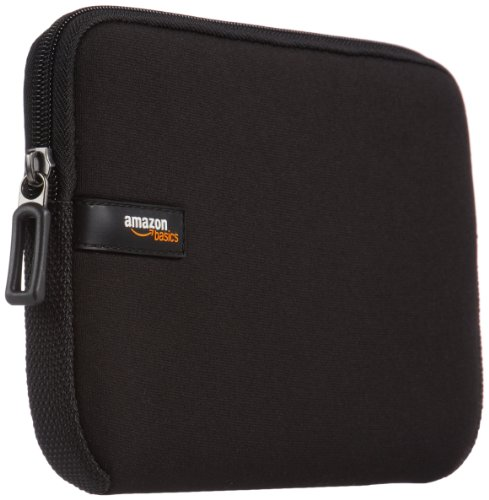 AmazonBasics Laptop-Schutzhülle, für Eine Bildschirmdiagonale von 15-15,6Zoll, Grau