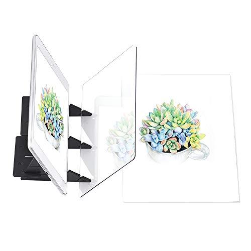 Aibecy Zeichenbrett Optical Tracing Board Copy Pad Panel Handwerk Anime Malerei Kunst Einfache Zeichnung Skizzierwerkzeug Spielzeug Geschenk für Studenten Erwachsene Künstler Anfänger