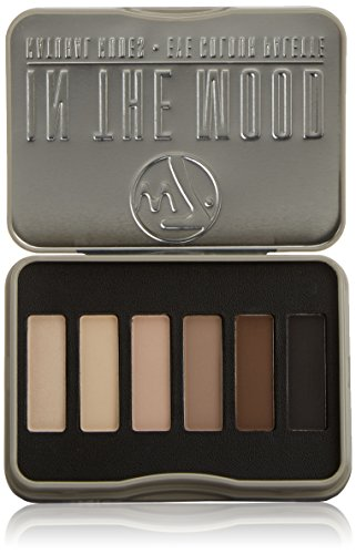 w7 In the Mood natural nudes eye shadow palette - Make up palette mit 6 pigmentierten leuchtenden lidschatten
