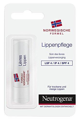 Neutrogena Norwegische Formel Lippenpflege LSF4, 1er Pack (1 x 4,8 g)