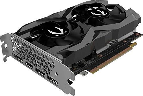 ZOTAC GAMING GeForce GTX 1660 Twin Fan Grafikkarte (NVIDIA GTX 1660, 6GB GDDDR5, 192bit, Boost-Takt 1785MHz, 8Gbps)