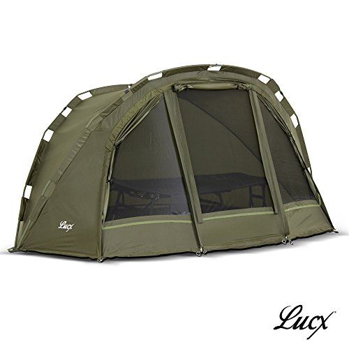 Lucx Puma Angelzelt/1 Man Bivvy/1 Mann Karpfenzelt/Carp Dome/Fishing Tent/Zelt/Wassersäule 10.000 mm, Campingzelt