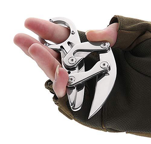 Huafi Klappmesser   Sehr scharfes Outdoormesser   Einhandmesser   Taschenmesser - Das perfekte scharfe Geschenk Männer