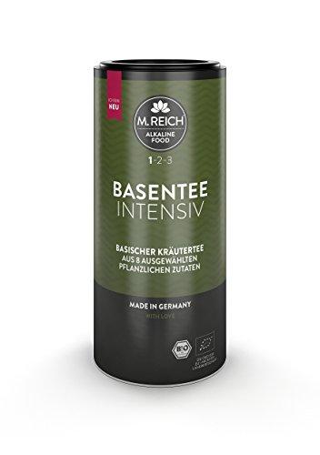 M. Reich BasenTee, intensiv - 30 Beutel - Basischer Bio-Kräutertee mit 8 Zutaten - ideal für basische Ernährung und Detox-Kuren