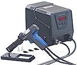 AGT Löten: Digitale Profi-Entlötstation mit Vakuum-Pumpe, 160-480 °C, 200 Watt (Entlötpumpe)