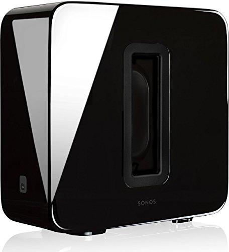 Sonos SUB WLAN-Subwoofer für Sonos Speaker (Schwarz)