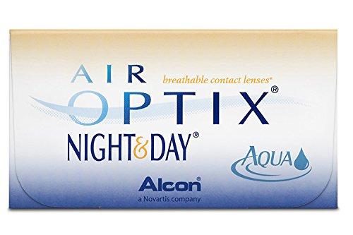 Air Optix Night & Day Aqua Monatslinsen weich, 3 Stück/BC 8.6 mm/DIA 13.8 mm / -2.5 Dioptrien