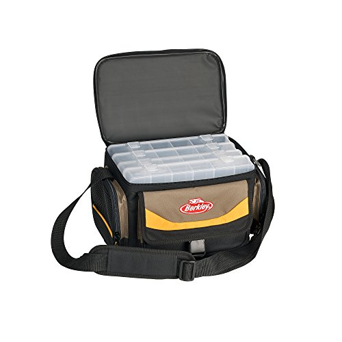 BerkleyGerätetasche Bag System inkl. 4 Boxen Grau/Gelb/Schwarz