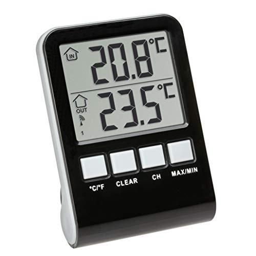 TFA Dostmann Palma Funk-Poolthermometer, anthrazit
