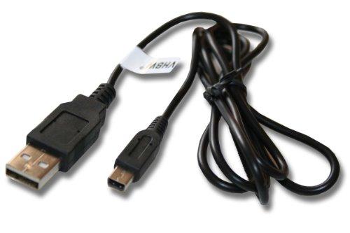vhbw USB Datenkabel Ladekabel für Spielekonsole Nintendo 3DS.