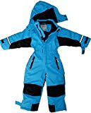 Maylynn - Softshell Skianzug Schneeanzug Blau, Größe:134