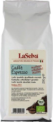 LaSelva Bio Espresso koffeinfrei, 250 g