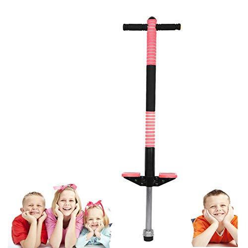 Cocoarm Pogo Stick Hüpfstab Sprungstange Jumper für Kinder von 7-12 Jahre Jungen und Mädchen (Rot) (Rot)