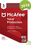 McAfee Total Protection 2019 | 5 Geräte | 1 Jahr | PC/Mac/Smartphone/Tablet | Download