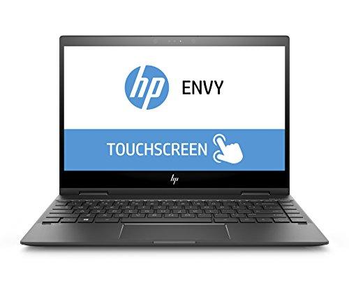 HP Envy x360 13-ag0003ng (Touchdisplay 13,3 Zoll / Full HD IPS) Convetible Laptop (AMD Ryzen 3 2300U, 256 GB SSD, 8 GB RAM, AMD Radeon Vega, Windows 10 Home 64) Dark Ash Silver