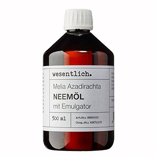 Neemöl mit Emulgator 500ml - fertig gemischt für sofortige Anwendung von wesentlich.