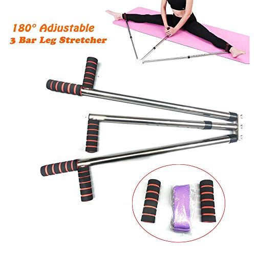 TABODD Leg Extension Machine Flexibilität Ausbildung Split Legs Ligament Stretcher, Schlagpolster Beinspreizer Metall