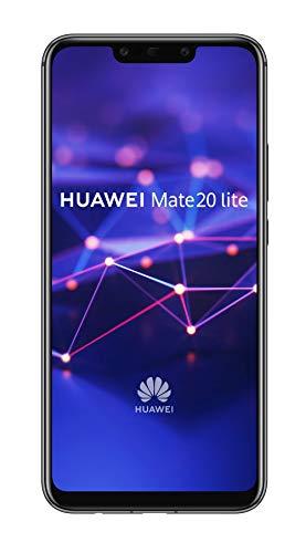 Huawei Mate 20 lite Dual-SIM Android 8.1 Smartphone mit Dual-Kamera, black (West European Version)