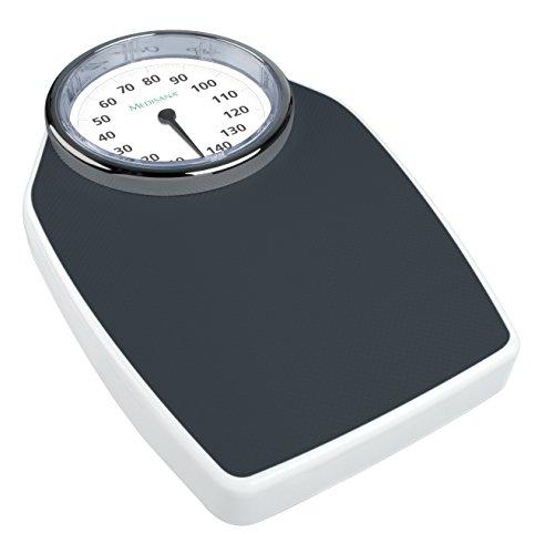 Medisana PSD Personenwaage, Retrodesign mit analoger Vollsichtskala (bis 150 kg)
