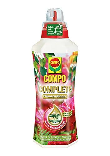 COMPO COMPLETE Pflanzendünger für alle Pflanzen, Universaldünger mit Kalzium und Magnesium, 1 Liter