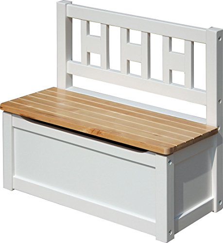 IB-Style - Kindersitzgruppe Luca   3 Kombinationen   1x Truhenbank - Stuhl Truhenbank Kindermöbel Tisch Kindertisch Kinderstuhl