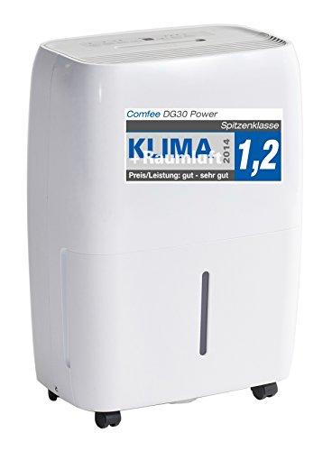 Comfee Luftentfeuchter/Bautrockner/Luftreiniger DG-30 Power 2in1/3 Jahre Garantie, 30 Liter, Raumgröße ca. 72m²/180m³