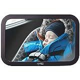 Fluffys World Autospiegel Baby - Babyspiegel Auto - Rücksitzspiegel Premium Qualität