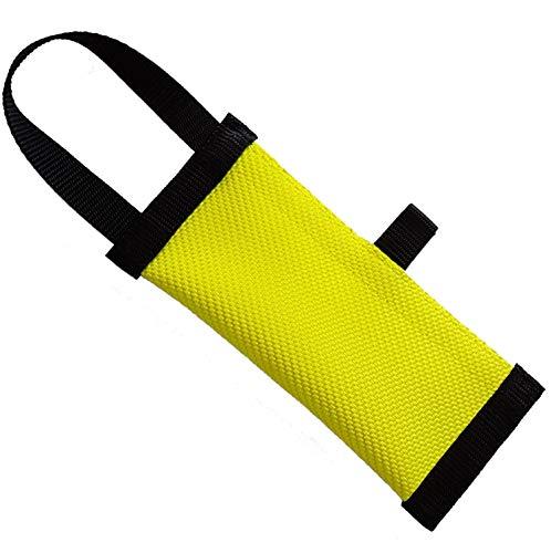 Dog24  Hunde-Futterdummy/Trainingsdummy/Feuerwehrschlauch/Apportier-Tasche für Leckerlies/Futterbeutel/Leckerlie-Beutel/Apportier-Spielzeug/schwimmfähig/Preydummy/Snack Dummy (XL (27cm))