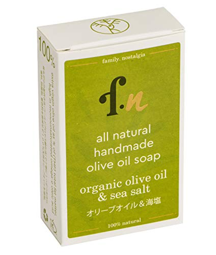 family. nostalgia | natürliche handgemachte Olivenölseife | all natural handmade 100% Kalamata extra virgin olive oil soap 120 g (organic)