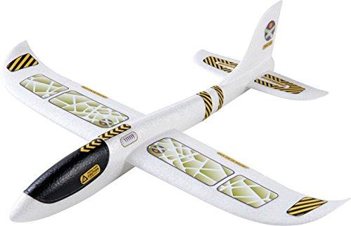 HABA 303520 - Terra Kids Wurfgleiter   Gleitflugzeug für Kinder ab 5 Jahren   Fluggleiter aus Styropor   spannendes Wurf- und Fluggerät   tolles Flugzeug zum Selber zusammenbauen, Bekleben und Werfen   gleitet elegant durch die Luft