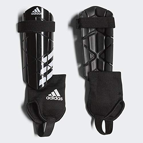 adidas Jungen Ever Reflex Schienbeinschoner für Fußball, Black/White, M