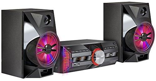 Mac Audio MPS 701   DAB+ Kompaktanlage   720 Watt High-Power Hifi-System mit DAB+, Bluetooth, USB, CD, AUX, RDS   LED Light Show - schwarz