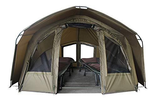 MK Angelsport 'Fort Knox 2.0' 2 Mann Dome Zelt Karpfenzelt Angelzelt incl.Gummihammer