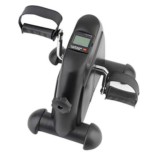 OUTAD Mini-Bike Heimtrainer Arm und Beintrainer Pedaltrainer Bewegungstrainer mit Trainingscomputer für Erwachsene und Senioren