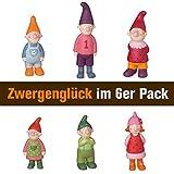Räder Zwergenglück-Familie, Gross 6er Set