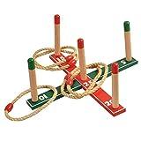 Oramics Ring Wurfspiel für Kinder und Erwachsene – Ringwurfspiel für In- und Outdoor – Geschicklichkeitsspiel mit großem Spielspaß für die Familie