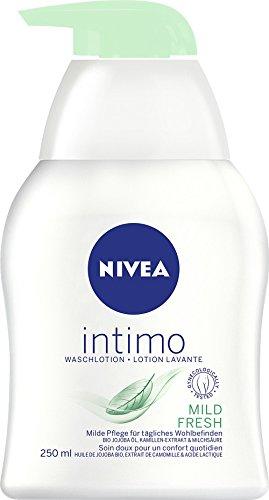 Nivea Intimo Mild Fresh Waschlotion für den Intimbereich, 4er Pack (4 x 250 ml)