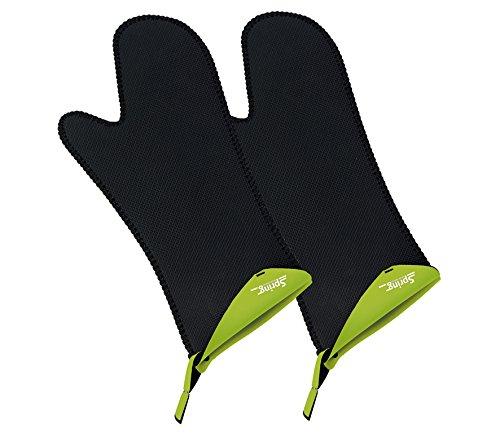 Spring 2094065202 Grips Handschuh lang 1 Paar, Andere, grün, 3,2 x 17,2 x 39,2 cm