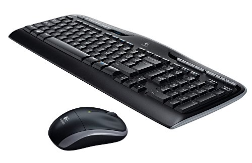Logitech 920-008533 Wireless Combo MK330 schnurlose Tastatur und Computermaus (2,4GHz, USB, Qwertz deutsches Tastaturlayout) schwarz