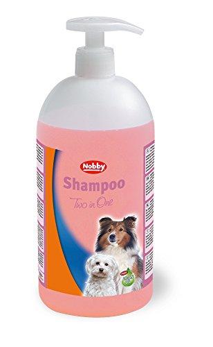Nobby 75883 Shampoo für Hunde, 1000 ml - 2 in 1