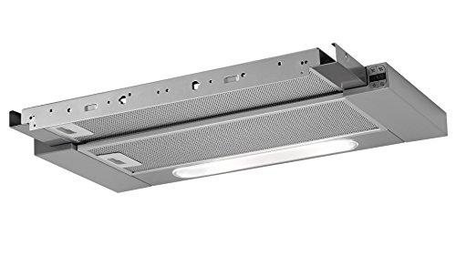 AEG DPB5650M Pull-out Edge Flachschirm Dunstabzugshaube Grau LED-Beleuchtung