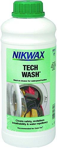 Nikwax Waschmittel Tech Wash 1 L, transparent, 1, 30344