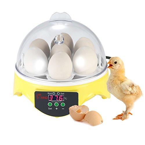 Inkubator Automatische-7Eier Kontrolle der Temperatur Digital Hatchery für Geflügel Huhn Ente Wachtel die Inkubation der Eier Zucht