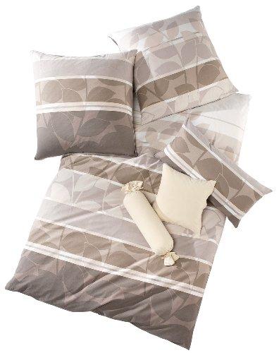 Schlafgut Bettwäsche Single-Jersey nerz Größe 135x200 cm (80x80 cm)