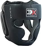 Professional Choice Boxen MMA Rindsleder Kopfschutz Gitter Muay Thai Kampfsport Boxtraining Kickboxen Sparring Taekwondo Krav MAGA Kopfschützer Thai Boxen