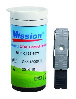 4in1 MISSION Cholesterin-Messgerät (HDL, LDL, TOTAL, TRIG) + 5 Teststreifen