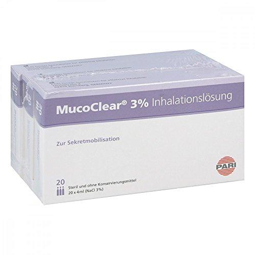 Mucoclear 3% Nacl Inhalationslösung 60X4 ml
